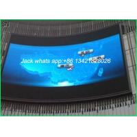 China Slim P10 Outdoor Curve LED Display , LED Large Screen Display Quick assemble wholesale