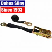 China OEM Quick Release Polyester Dahua Sling Cargo Strapping With Snap Hook wholesale
