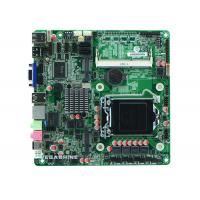 China Intel® Core™ i3/i5/i7 CPU all in one PC Motherboard 2COM , 9USB2.0 ,VGA HDMI LVDS display wholesale