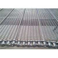 China Stainless Steel Chain Conveyor Belt High Strength Customized For Food Baking on sale