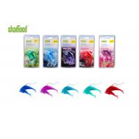China Double Dolphin  Plastic Air Freshener Four Scents Hanging In Carfor Rear - view Mirror wholesale