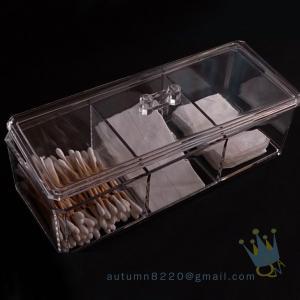China acrylic makeup organizer tray wholesale