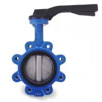 China Lug Type Ductile Iron High Performance Butterfly Valve with API 609 and EN593 Standard wholesale