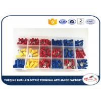 China Tin plated Assorted Insulated electrical terminal kit Terminator KLI-9920284 300pcs wholesale