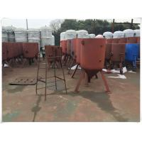 Buy cheap High Pressure Horizontal Compressed Air Receiver Tank For Water Treatment System from wholesalers