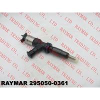 Buy cheap DENSO Genuine comon rail fuel injector 295050-0360, 295050-0361 for CATERPILLAR 3707281, 370-7281 from wholesalers