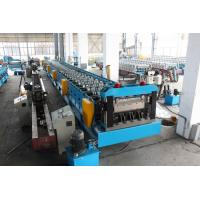 China Galvanized Steel Floor Deck Roll Forming Machine Hydraulic Decoiler 30KW wholesale