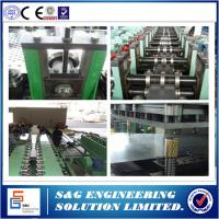 Automatic Hydraulic Cable Tray Roll Forming Machine Chinese / English Lanugage System