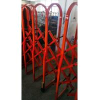 Aluminium Alloy Red Colour Safety Barrier Gate For Crowd Control With 3M