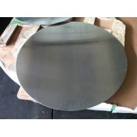 China 0.4mm to 5mm Mill Finished Aluminium Disc For Kitchen Ware 1050 1060 1100 3003 Bright Surface with DC Material wholesale