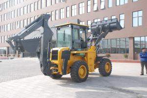 China WZ30-25 10 Ton 2500r/Min Tractor Loader Backhoe With Four Wheels Drive wholesale