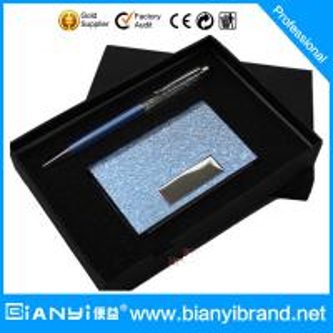 China Business Card Holder Pen Gift Set wholesale