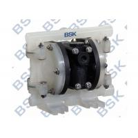 Quality Plastic Pneumatic Double Diaphragm Pump Vacuum with Butterfly Valves for sale