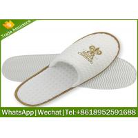 Quality hotel slipper,waffle slippers manufacturer,waffle slipper with logo for sale