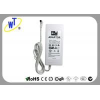 China LED lights Regulated Power Adapter with Bend Connector / White Shell wholesale