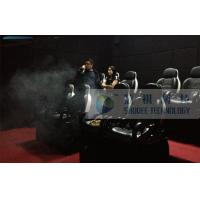 China 8 Seats 7D Cinema System With Smoke Effects And Audio System wholesale