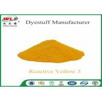 China C I Reactive Yellow 3 Textile Reactive Dyes Colour Dye For Fabric wholesale