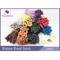 China Natural Red / Blue Reed Diffuser Replacement Sticks Bow Curly Shape wholesale