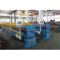 China Down Pipe Roll Forming Machine Square Type With Elbow Machine ISO / CE wholesale