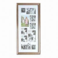 China Plastic Collage Photo Frame, Available in Various Sizes and Colors wholesale