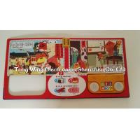 Quality ABS + CCNB 6 Button and  2 LED Module For Intellectual Baby Play A Sound Book for sale