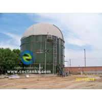 China Glass Fused To Steel Fire Water Tank , Design Comply With NFPA-22 wholesale
