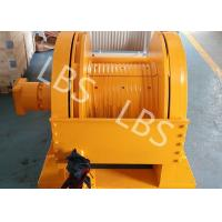 China Marine Windlass Anchor Winch / Oil Well Hydraulic Crane Winch wholesale