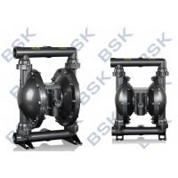 China Black Rubber / Teflon Double Diaphragm Pump High Pressure 8.3bar wholesale