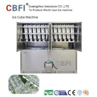 China Large 20 Tons Edible Ice Cube Machine With r22 Gas For Beverage Shop wholesale