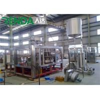 Quality High Efficiency Water Bottle Filling Machine Washing - Filling - Capping 3 In 1 for sale