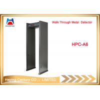 China Full Body Scanner Waterproof Waterproof Single Zone Walk Through Metal Detector on sale