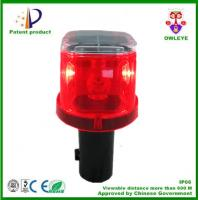 China Manufacturer Hot sale 4 LED solar warning light,solar traffic cone light, solar LED Traffic warning light wholesale