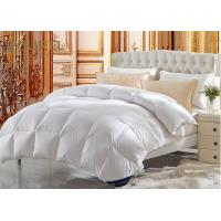 China Eco - Friendly Hotel Quality White Duvet Covers King Size Goose Down wholesale