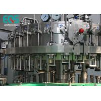 Buy cheap 3 in 1 Carbonated Drink Filling Machine Sus 304 Material With Washer / Filler / Capper from wholesalers