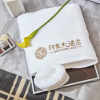 Quality Luxury Hotel Towel Set Bath Towels Customized Logo 100% Cotton Face Towels for sale