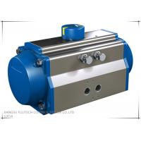 Buy cheap Extruded aluminum Rotary quarter-turn Rack And Pinion Pneumatic Actuator from wholesalers