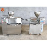 China Automatic Sesame Cold Press Oil Machine 1.1kw Heating Power 380V / Customized Voltage wholesale