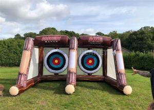 China Interactive Sport Shooting Games Inflatable Axe Throwing Sticky Tossing Game For Adult And Kids wholesale