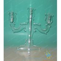 China CH (31) small clear Acrylic candle holder wholesale