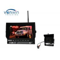 China Truck Back - Up Reversing Camera Kit Wireless With 7 Inches Monitor wholesale