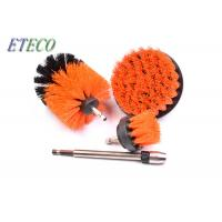 China Tyre Rim Drill Scrub Brush Floor Carpet Cleaning Various Color Easily Install on sale