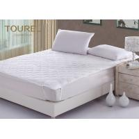 China Custom Microfiber Filling Hotel Mattress Protector Hypoallergenic Quilted Luxury Mattress Protector wholesale