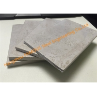 China Waterproof 6mm Decorative Gypsum Ceiling , 18mm Calcium Silicate Insulation Board wholesale