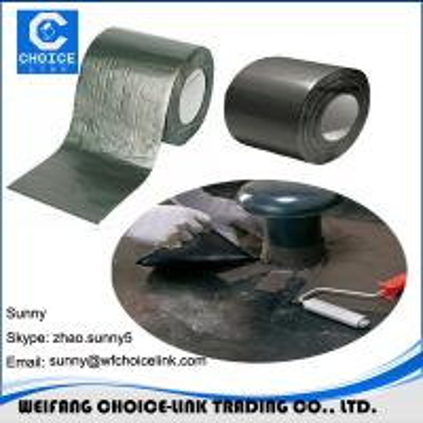 Self Sealing Membrane Roof : Mm aluminum foil self adhesive bitumen flashing
