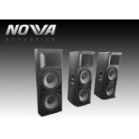 Buy cheap High Frequency Stage Sound Equipment For DJ And Nightclub , 3000W Power from wholesalers