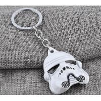 China Star Wars darth vader helmet metal keychain wholesale