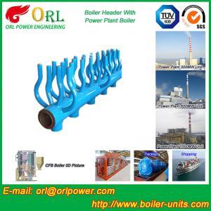 China High Temperature Boiler Header Manifolds with Boiler Manifold Piping wholesale