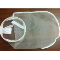 "China PE / PA / Nylon Filter Mesh Industrial Filter Bag Woven / Nonwoven Fabric 7"" * 18"" wholesale"
