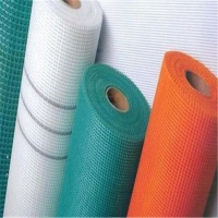 China Different colors sticky and soft fiberglass net used for EPS wholesale