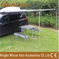 China Car Rain Tent and Awning 280G Canvas 2 x 2.5m Instant Setup Wing Side wholesale